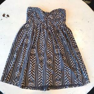 Billabong strapless cotton dress